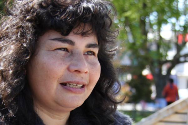 """María Rita Hube """"Cuando tejo, me olvido del mundo"""""""