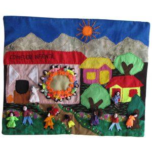 arpilleristas, artesanía chilena