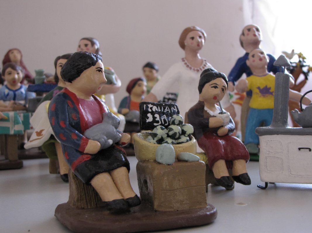 Loceras de Talagante, loza policromada, artesanía chilena