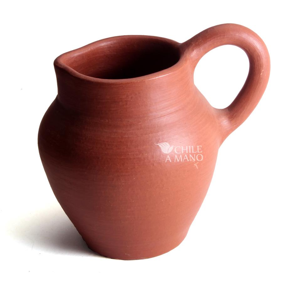 Jarro mediano chile a mano - Fotos de ceramica ...