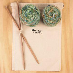 kit lana y palillos