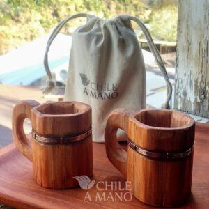 Taza de café alerce y cobre